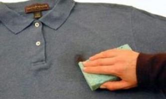 Чим відіпрати мазут з одягу?