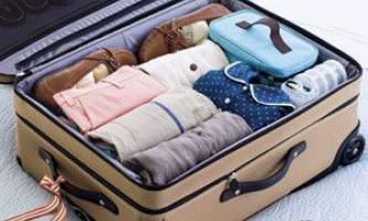 Як компактно скласти речі в чемодан?