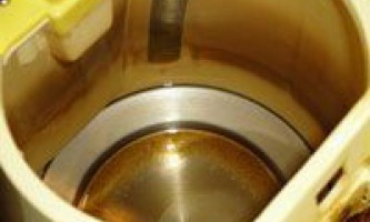 Як очистити електричний чайник від накипу