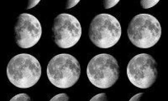 Як визначити зростаючу місяць