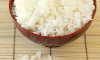 Як зварити рис для суші правильно