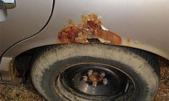 Як видалити іржу з автомобіля? Покрокова інструкція