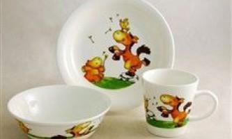 Як вибрати дитячий посуд - рекомендації від видання «вм»