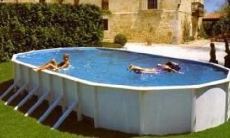 Як вибрати хороший басейн для дачі