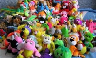 Як вибрати м`які іграшки дитині, і навіщо вони потрібні