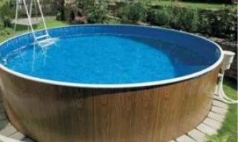 Який басейн краще купити для дачі?