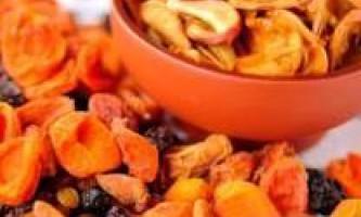 Компот із сухофруктів. Як варити компост із сухофруктів?