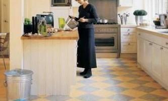 Лінолеум для кухні