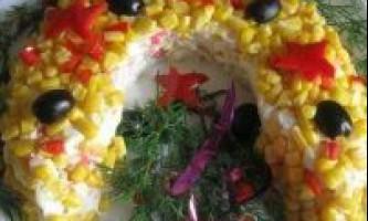 Нові салати до нового року 2017