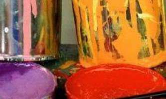 Про фарбуванні олійною і емульсійної фарбами