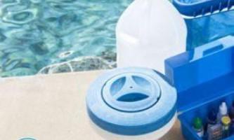 Очищення води в басейні на дачі