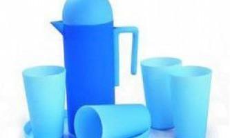 Правила використання пластмасового посуду