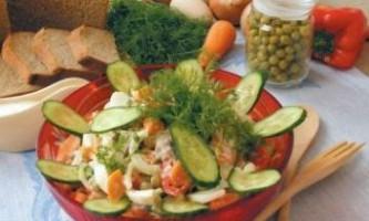 Святкові салати і закуски