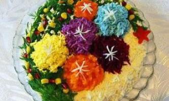 Рецепти салатів на новий рік 2017