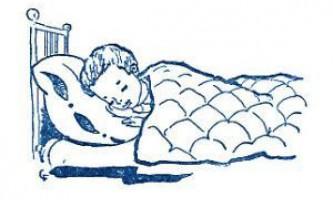 Сон дитини перших місяців життя до 2 років