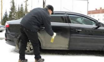 Суха мийка автомобіля - плюси і мінуси