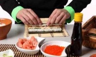 Суші і роли в домашніх умовах - рецепти їх приготування