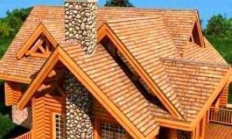 Типи дахів заміських будинків